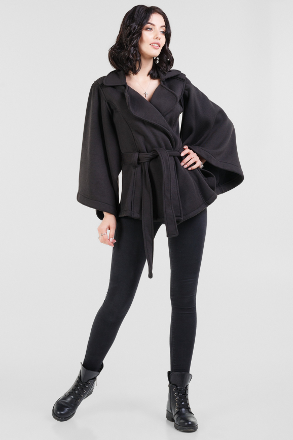 Жакет женский черного цвета|интернет-магазин vvlen.com