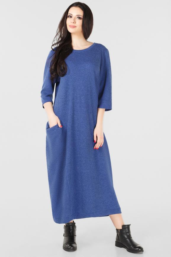 Платье оверсайз электрика цвета it 211-3 интернет-магазин vvlen.com