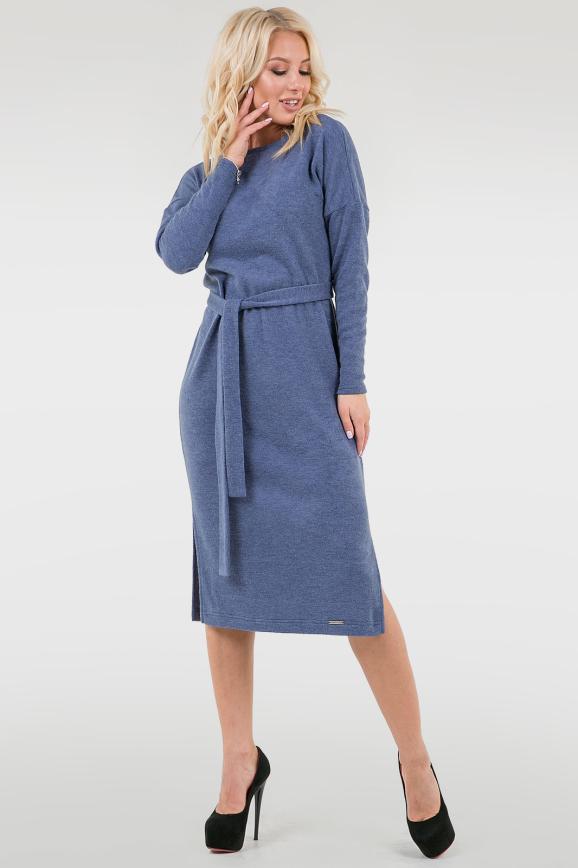 Повседневное платье  мешок джинса цвета|интернет-магазин vvlen.com