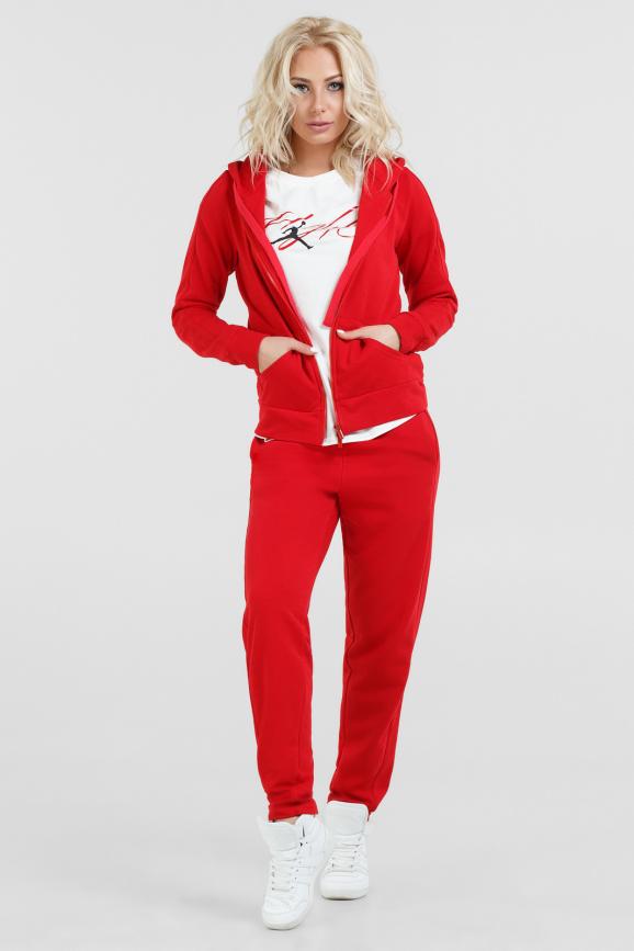 Спортивный костюм красного цвета 067|интернет-магазин vvlen.com