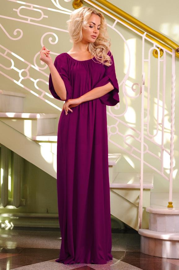 Платье оверсайз бордового цвета 2423.86 интернет-магазин vvlen.com