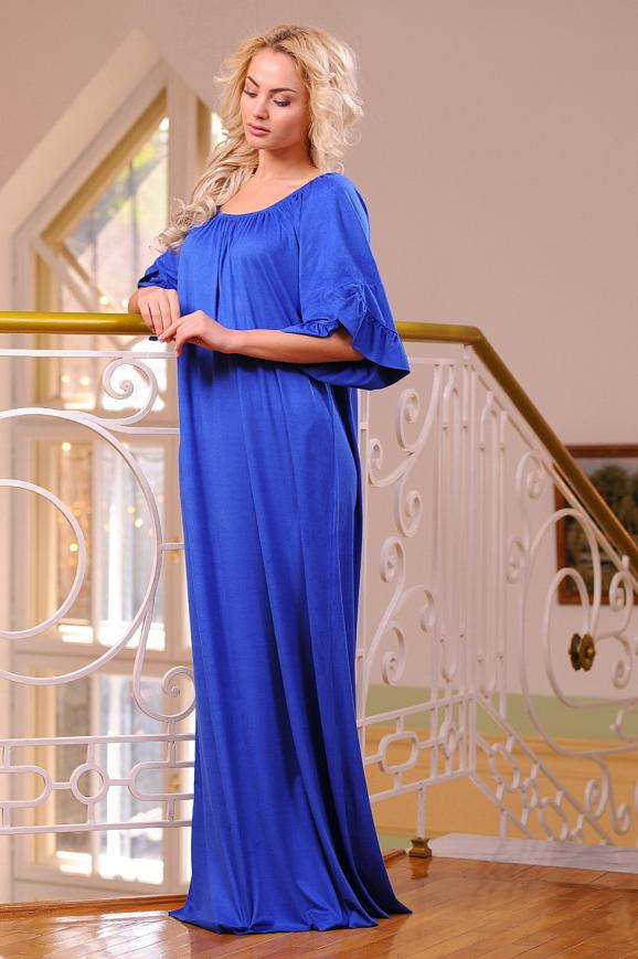 Платье оверсайз электрика цвета|интернет-магазин vvlen.com