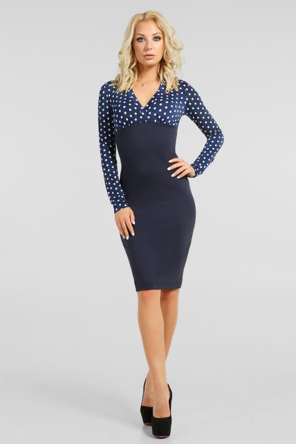 Элегантное офисное платье |интернет-магазин vvlen.com