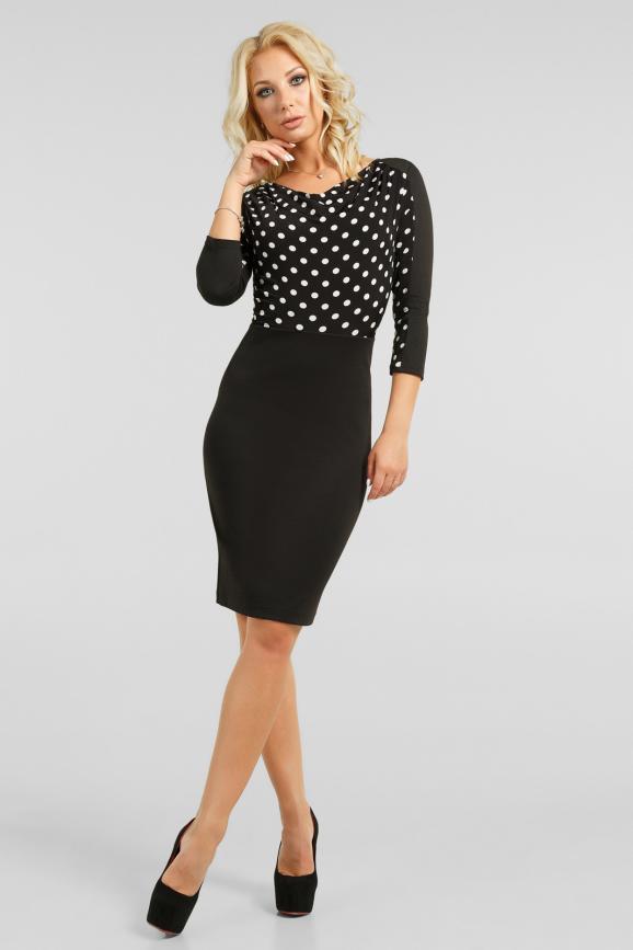 Очаровательное офисное платье|интернет-магазин vvlen.com