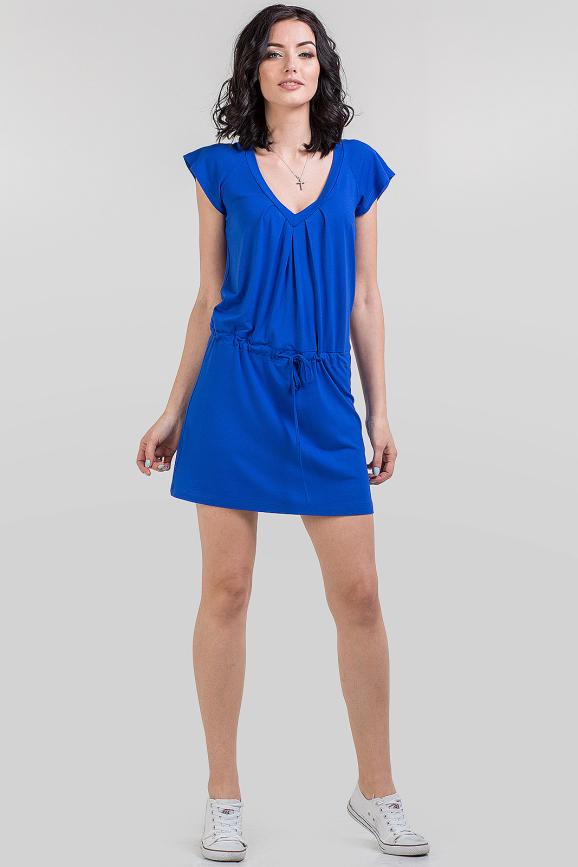 Летнее спортивное платье электрика цвета 586.17|интернет-магазин vvlen.com