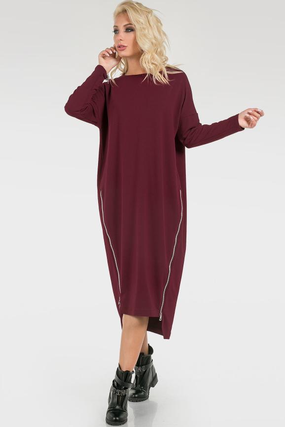 Стильное ассиметричное платье интернет-магазин vvlen.com
