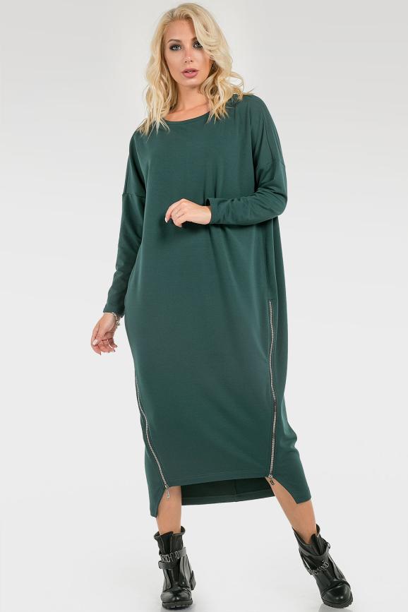 Платье с молниями|интернет-магазин vvlen.com