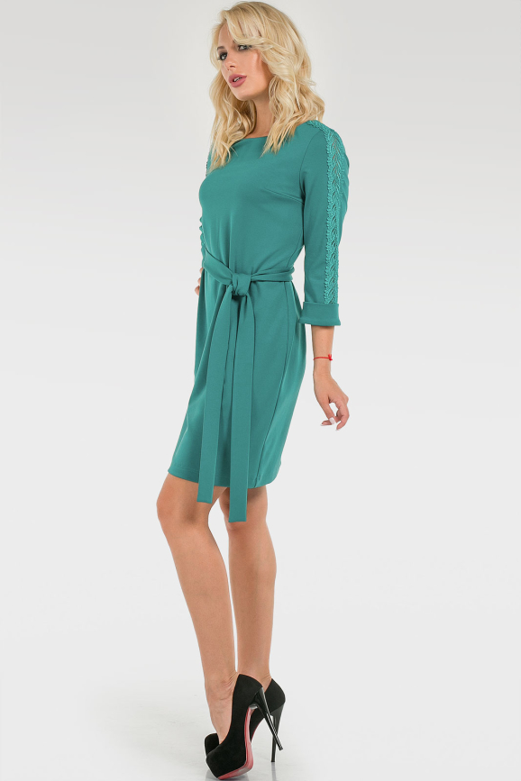 Яркое платье с кружевом|интернет-магазин vvlen.com
