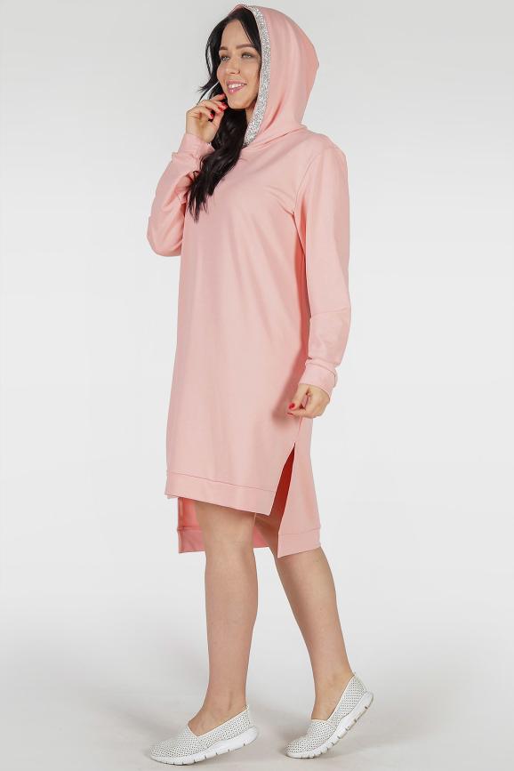 Спортивное платье пудры цвета |интернет-магазин vvlen.com