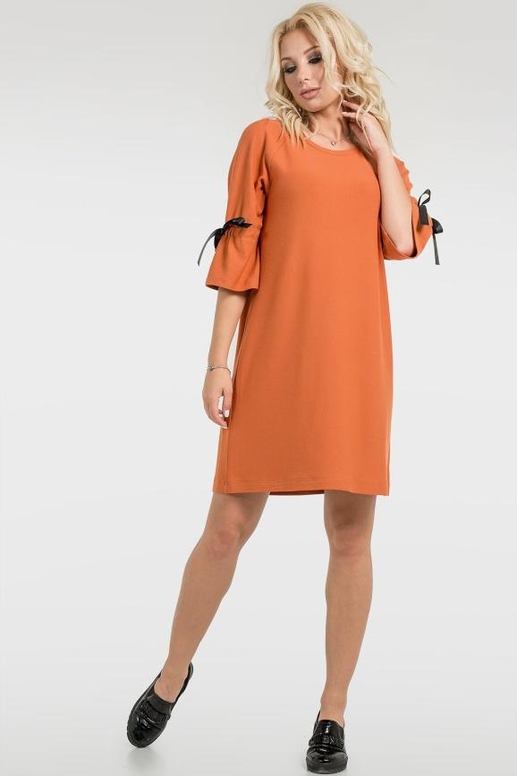 Свободное платье с воланами|интернет-магазин vvlen.com