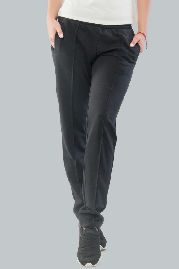 Спортивные брюки черного цвета|интернет-магазин vvlen.com