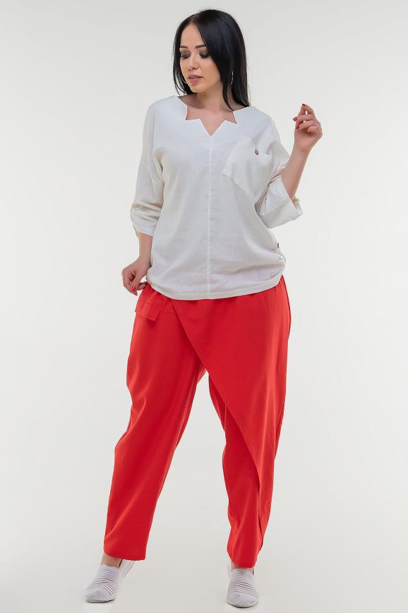 Брюки женские красного цвета it 604|интернет-магазин vvlen.com