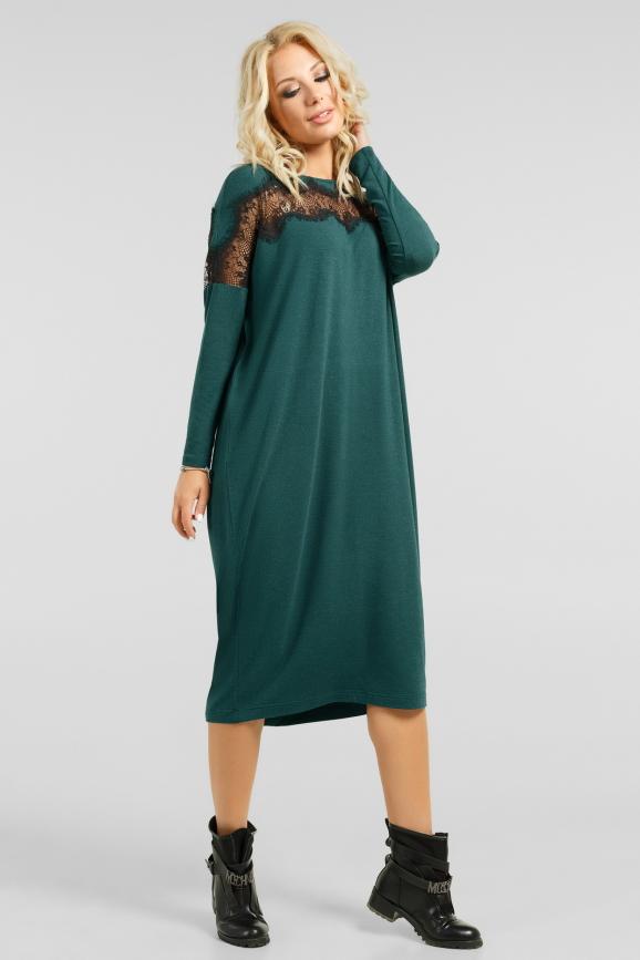 Декорированое платье оверсайз|интернет-магазин vvlen.com
