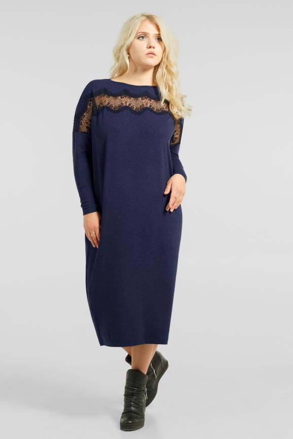 Интересное платье с кружевом|интернет-магазин vvlen.com