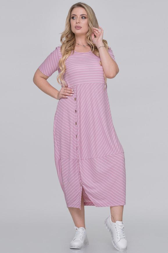 Летнее платье  мешок полоска фрезовая цвета|интернет-магазин vvlen.com