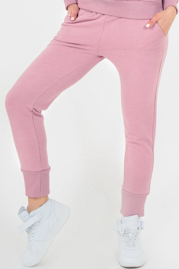 Спортивные штаны фрезового цвета 156|интернет-магазин vvlen.com