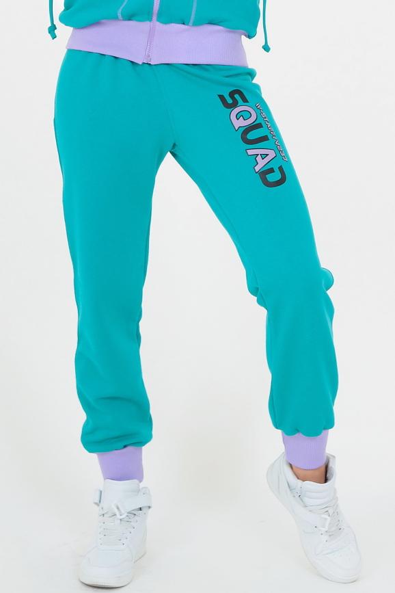 Спортивные брюки мятного цвета|интернет-магазин vvlen.com