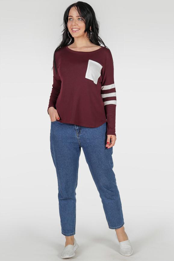 Свитшот бордового цвета|интернет-магазин vvlen.com