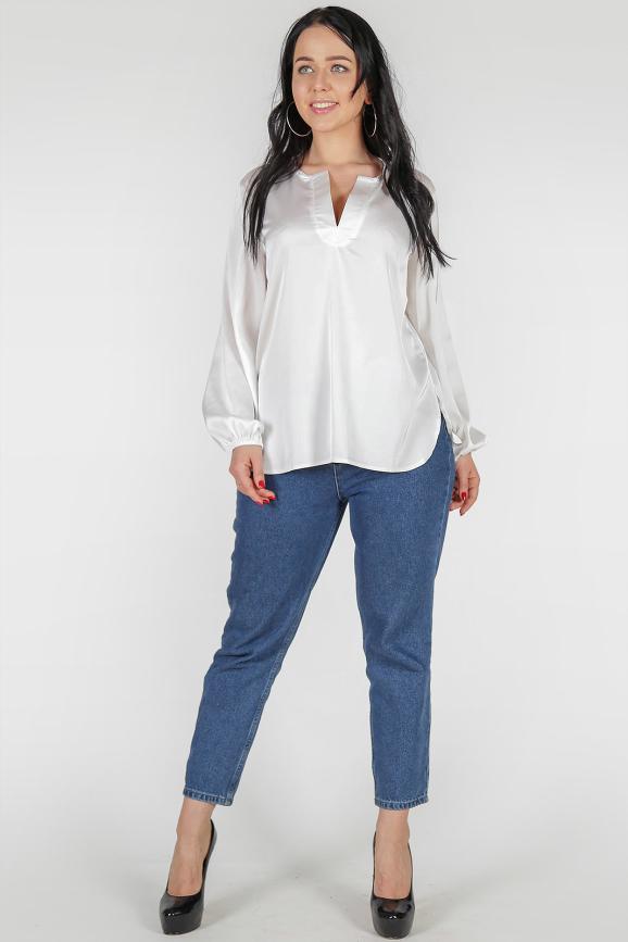 Блуза молочного цвета|интернет-магазин vvlen.com