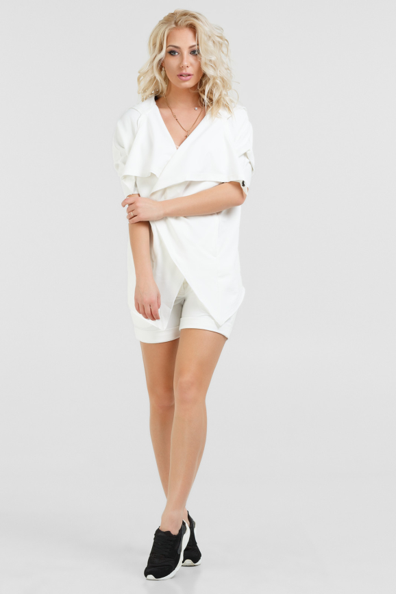Спортивный костюм белого цвета |интернет-магазин vvlen.com