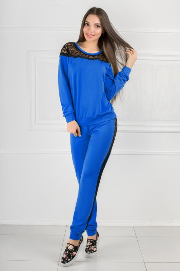 Домашний костюм электрика цвета 2307.79|интернет-магазин vvlen.com