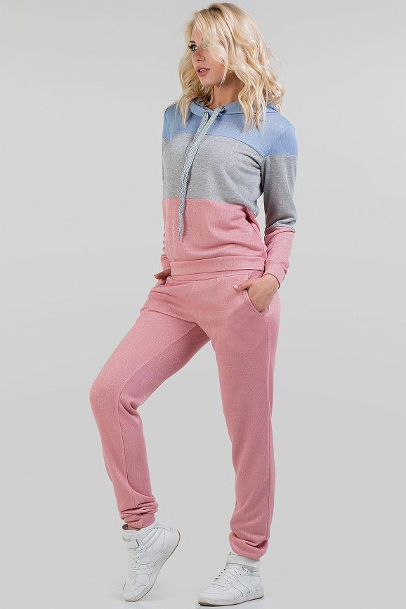 Домашний костюм розового цвета 2691.79 интернет-магазин vvlen.com