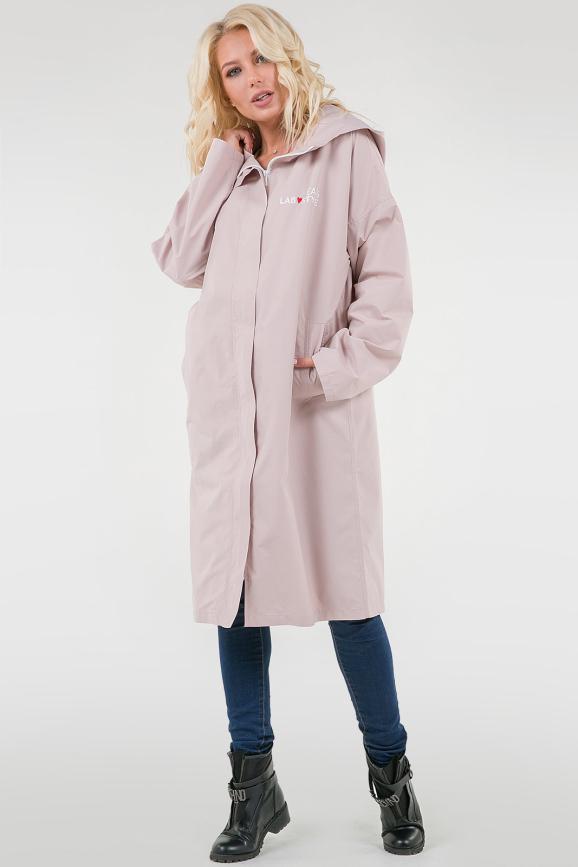 Розовый женский плащ|интернет-магазин vvlen.com