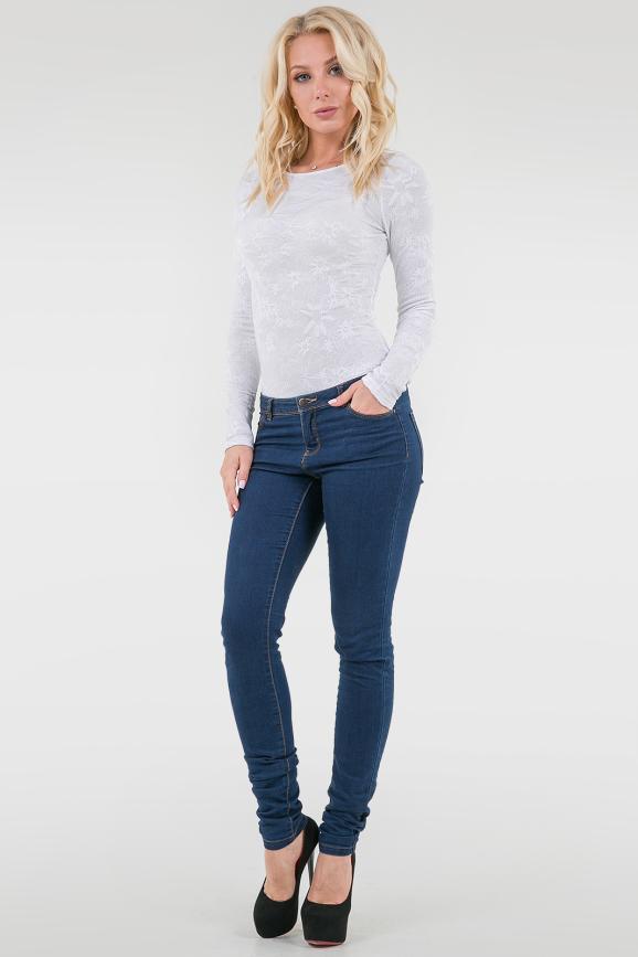 Боди белого цвета 1191-1.18|интернет-магазин vvlen.com