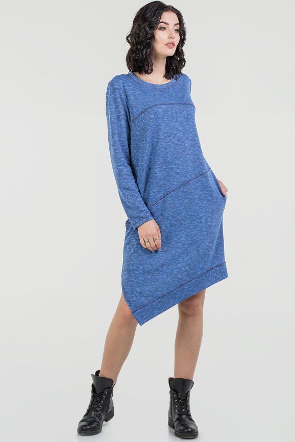 Спортивное платье  электрика цвета 2621.97 интернет-магазин vvlen.com