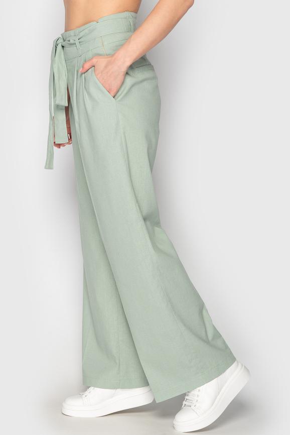Брюки женские гороховый цвета 764|интернет-магазин vvlen.com