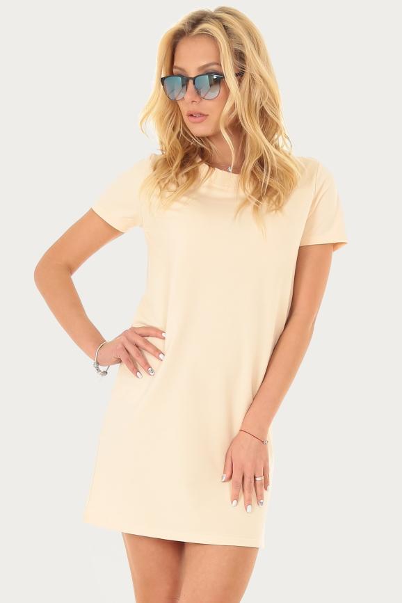 Спортивное платье  пудры цвета|интернет-магазин vvlen.com