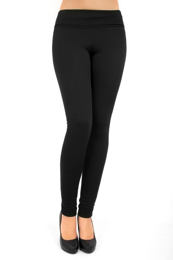 Женские лосины черного цвета 2214t.71|интернет-магазин vvlen.com
