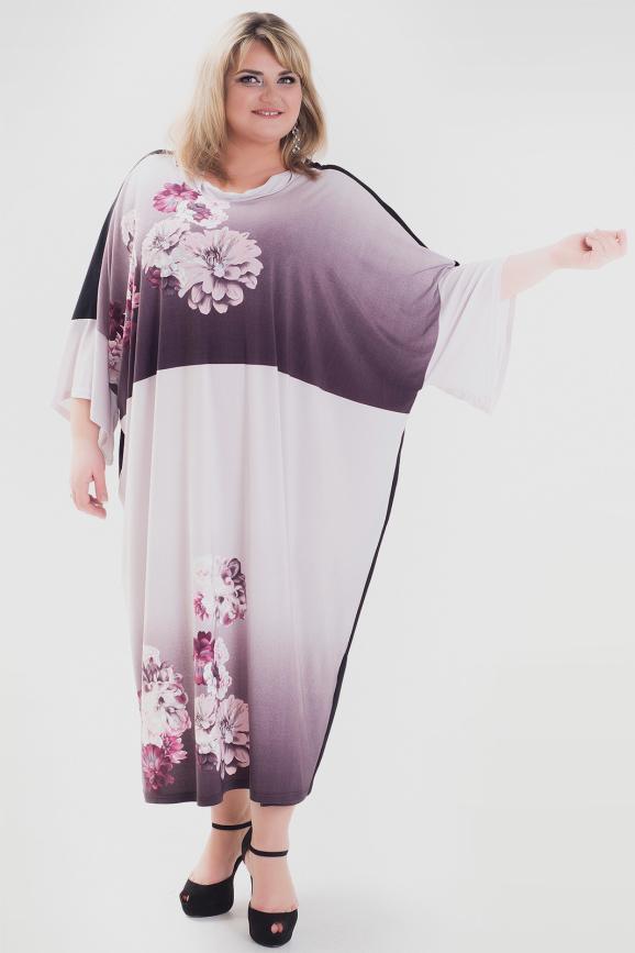 Платье розового цвета 1057а-1|интернет-магазин vvlen.com
