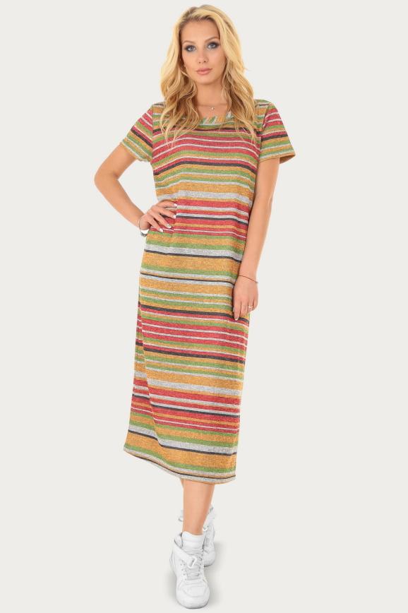 Спортивное платье  охры цвета|интернет-магазин vvlen.com