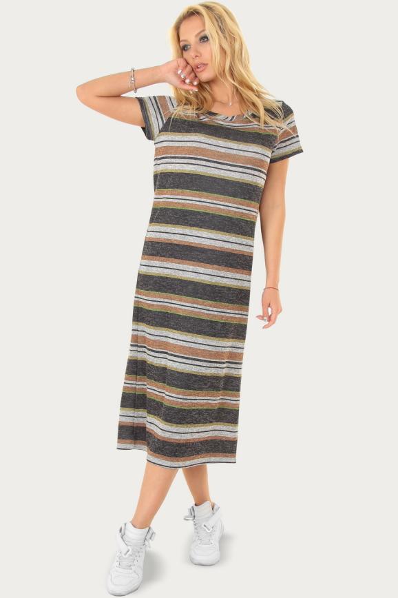 Спортивное платье  серого цвета 232br|интернет-магазин vvlen.com