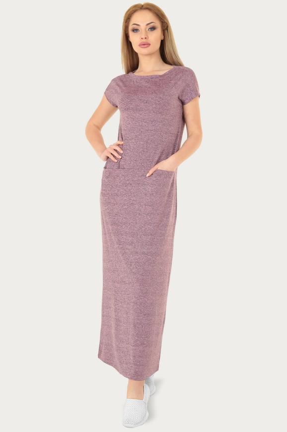Спортивное платье  розового цвета 217br|интернет-магазин vvlen.com