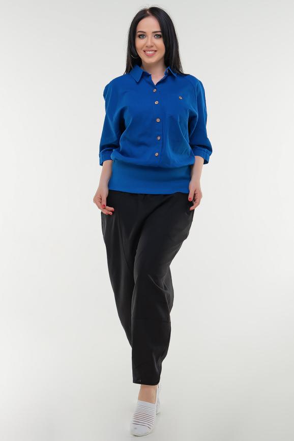 Блуза электрика цвета|интернет-магазин vvlen.com