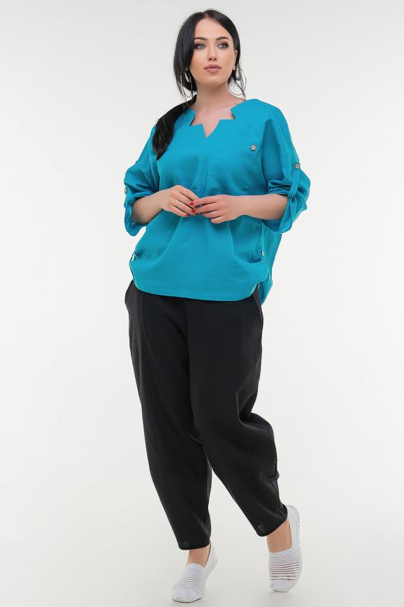 Блуза черного цвета it 506|интернет-магазин vvlen.com