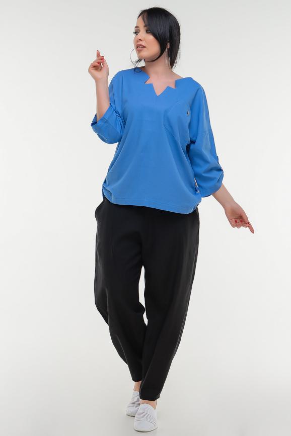 Блуза электрика цвета it 506|интернет-магазин vvlen.com