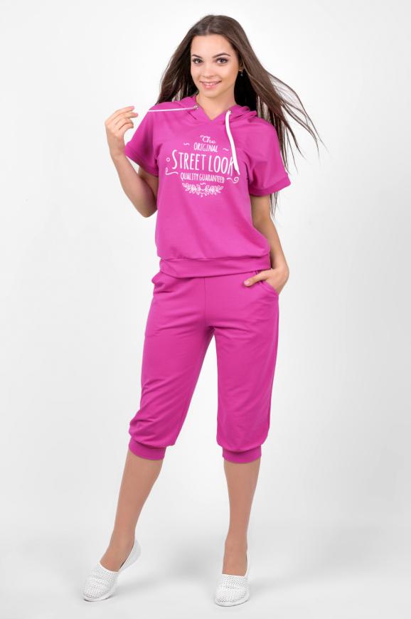 Домашний костюм розового цвета 2458.79|интернет-магазин vvlen.com