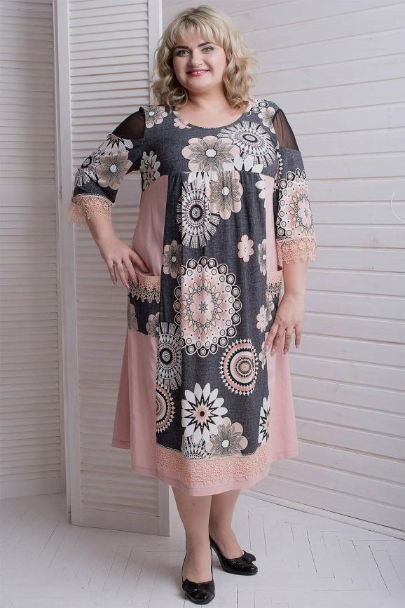 Платье пудры цвета |интернет-магазин vvlen.com