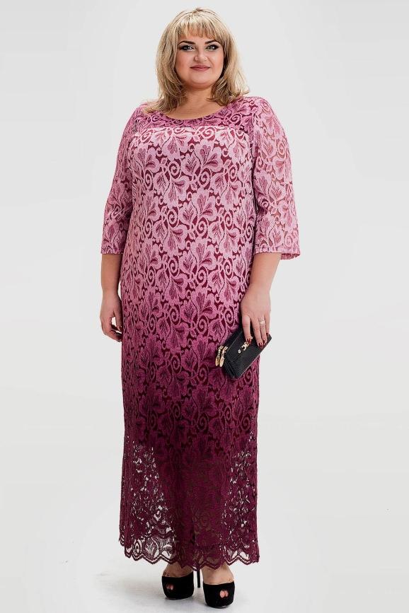 Платье бордового цвета |интернет-магазин vvlen.com