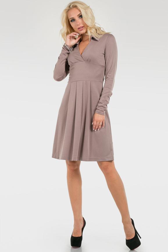 Лаконичное деловое платье|интернет-магазин vvlen.com