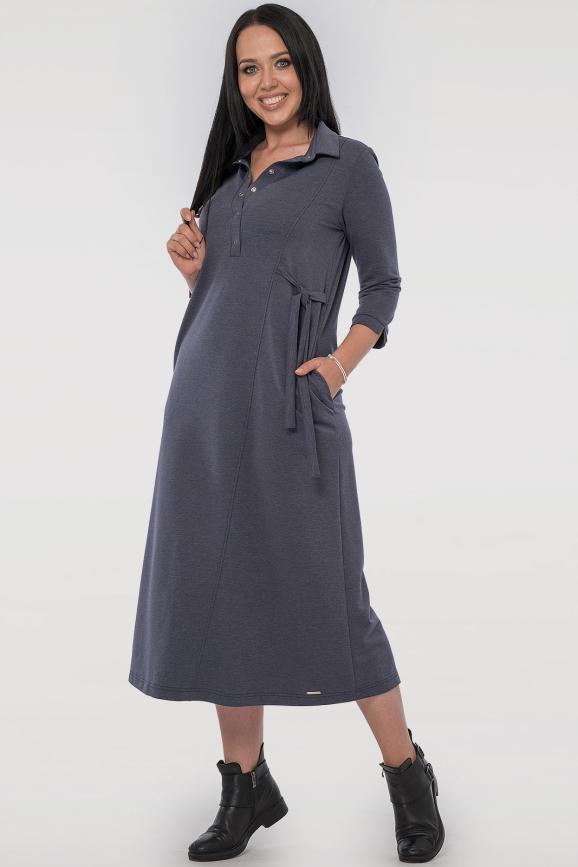 Повседневное платье рубашка джинса цвета|интернет-магазин vvlen.com
