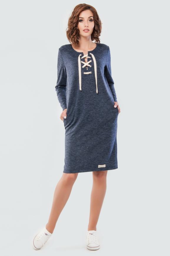 Спортивное платье со шнуровкой|интернет-магазин vvlen.com