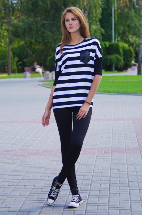 Свитшот черного цвета  2225.17|интернет-магазин vvlen.com