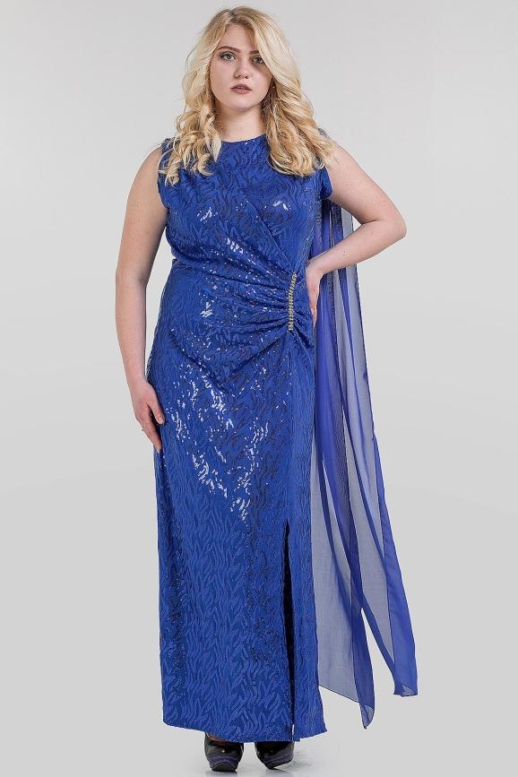 Платье футляр сиреневого цвета 1-2806|интернет-магазин vvlen.com