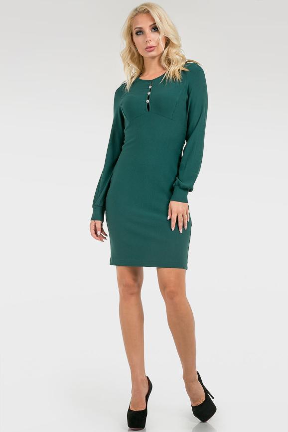 Лаконичное трикотажное платье|интернет-магазин vvlen.com
