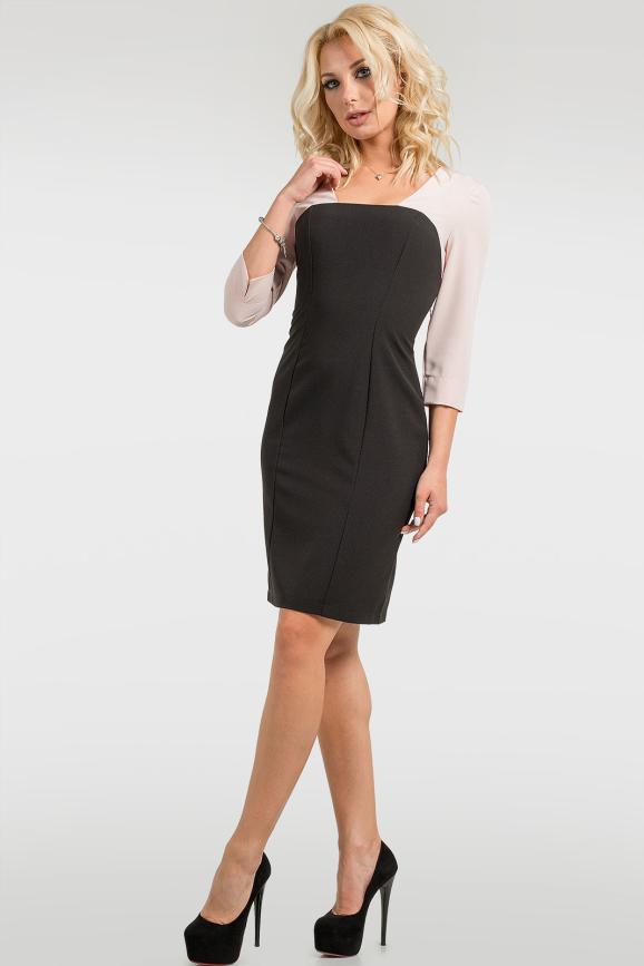 Офисное модное платье|интернет-магазин vvlen.com