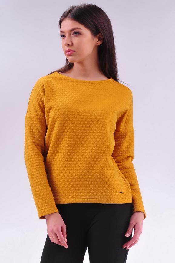 Свитшот желтого цвета  |интернет-магазин vvlen.com
